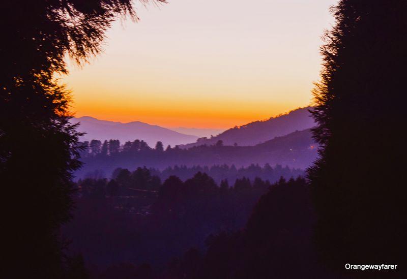 Arunachal Pradesh Tawang Sunset