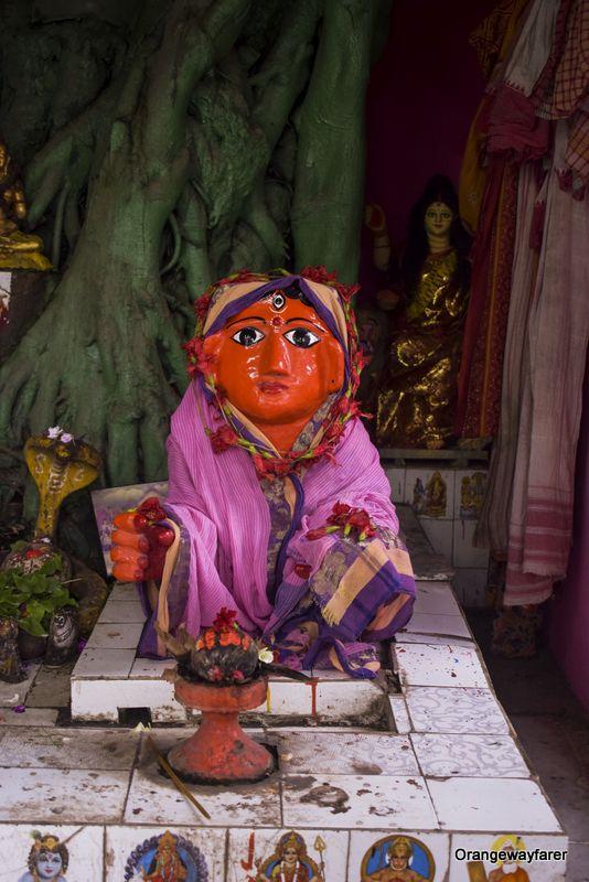 Goddess in Kolkata