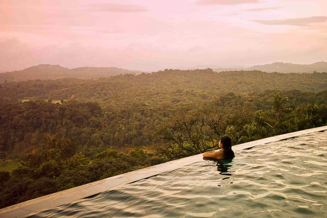 taj madikeri resort & spa, coorg madikeri, karnataka: infinity pool: most beautiful hotel in Coorg