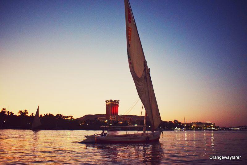 Nile felucca ride