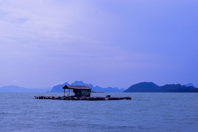 Visit to Lobster Farm. Koh Yai Yoi. Thailand.