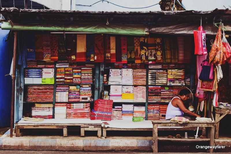saree Shop Kalighat Temple