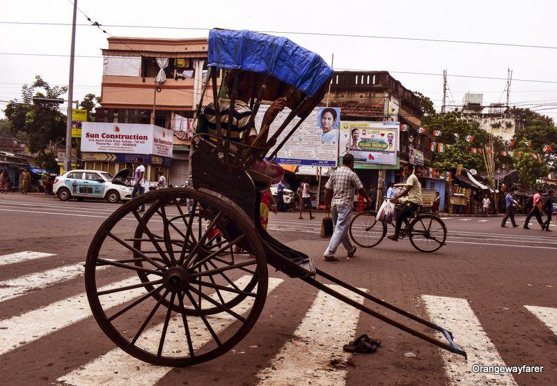 Hate tana Rickshaw Kolkata