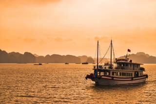 halong Bay Sunset and Vietnam Travel guide