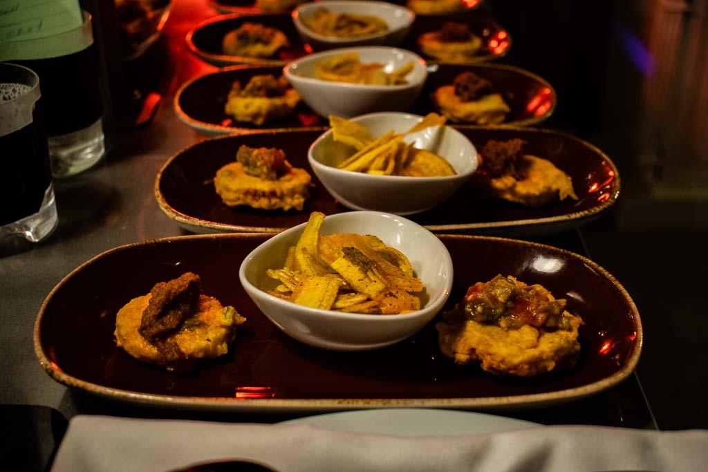 Food at Ravenala Hotel mauritius