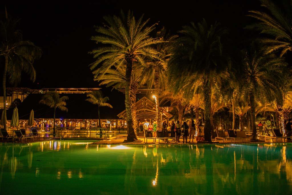 Ravenala ALtitude hotel: Party At Night