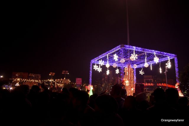 police bazar new years eve shillong