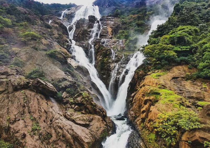 Dudhsagar Falls: top things to do in goa