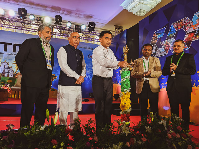 Dr Pramod Sawant, Chief Minister Goa is inaugurating GITM 2019