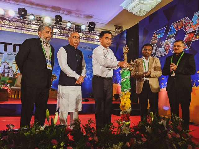 Dr Pramod Sawant, Chief Minister Goa is inaugurating GITM 2019