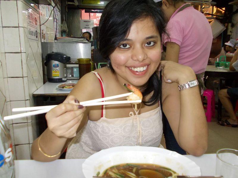 street food at bangkok