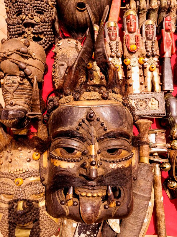 Himalayan tribal mask of nepal