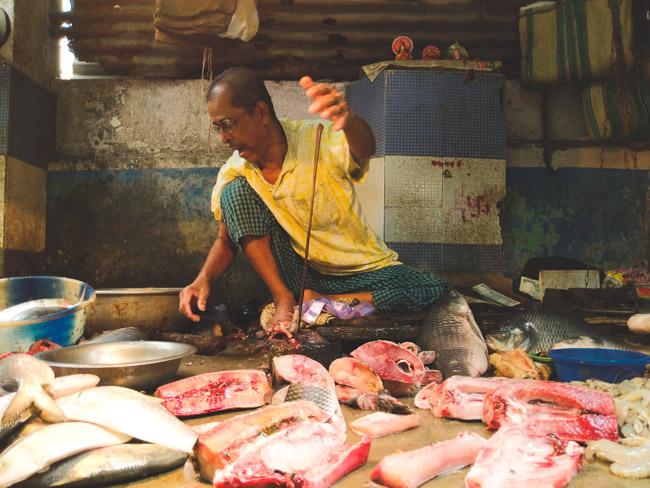 fish market Kolkata