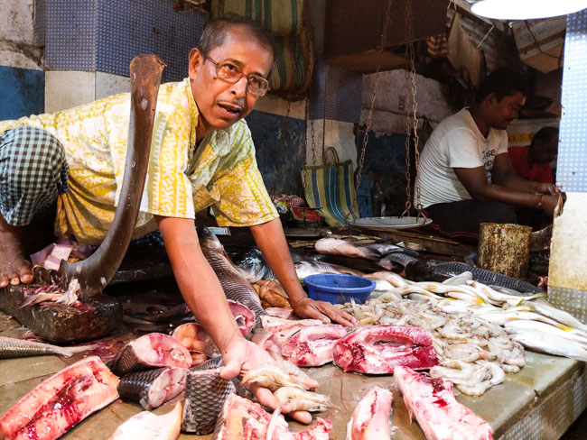Fish Market in Kolkata
