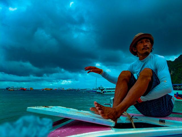 Rain on Andaman Sea: Is Phi Phi accessible?