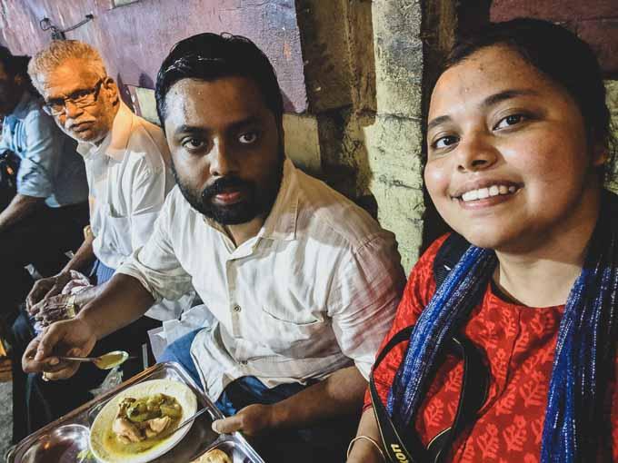 Madhurima orange wayfarer Travel Blogger in Kolkata