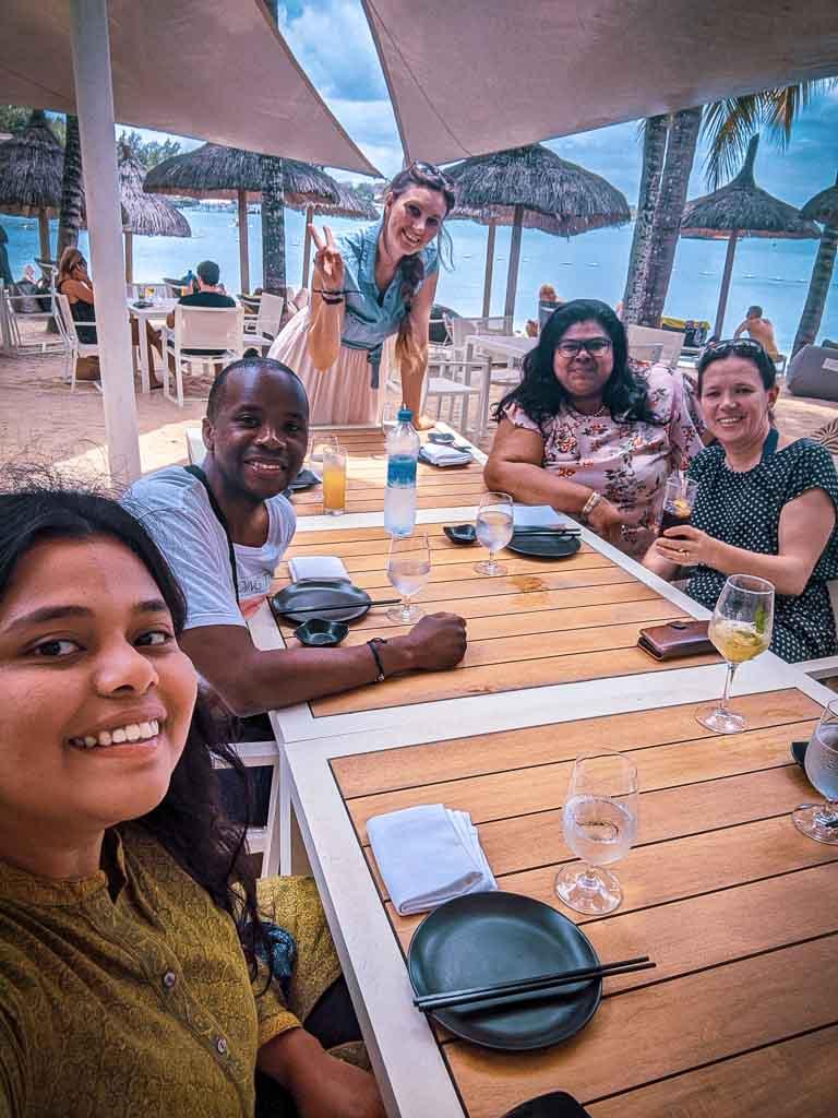 Bloggers at MTPA My Mauritius program