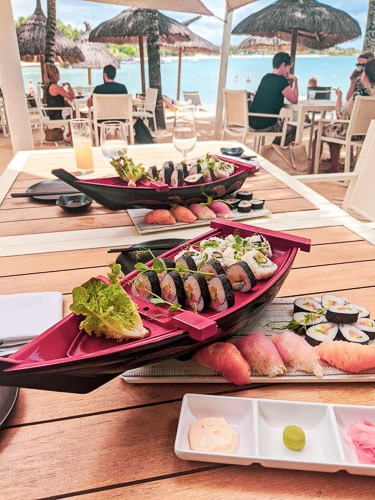 Japanese restaurantat Ravenala ALtitude