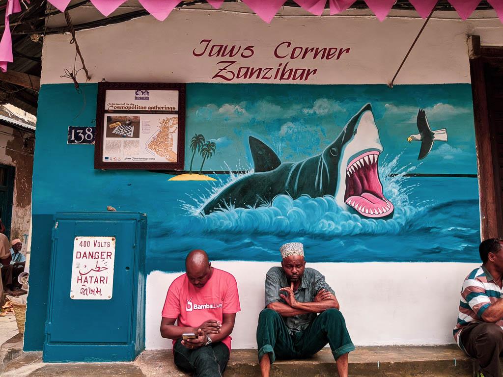 Jaw's Corner, Stone Town