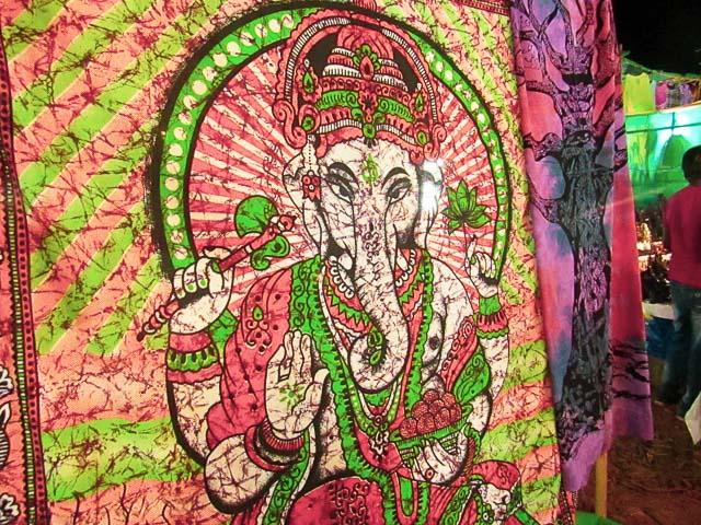 Anjuna Flae Market: The hippie trail in Goa