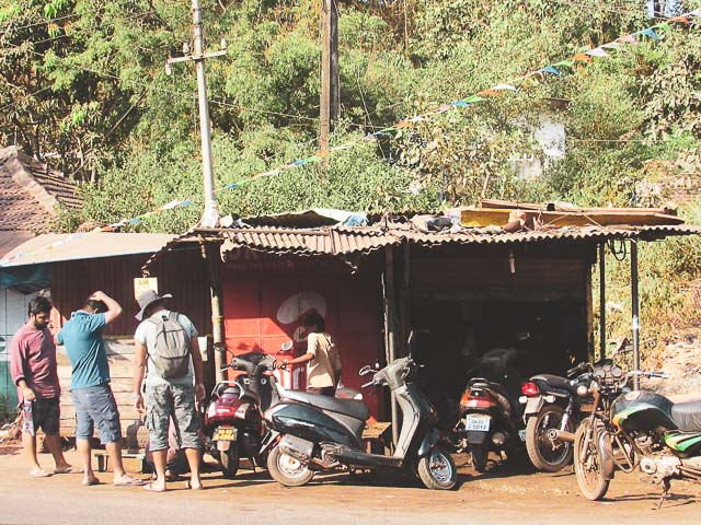 How to rent a bike or scooty in Goa