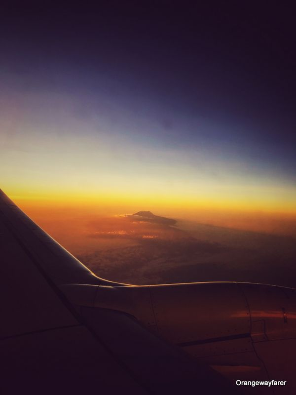 Mount Kilimanjaro and sunrise
