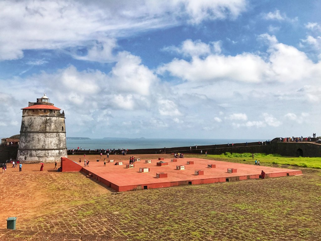 aguada fort: things to do in Goa