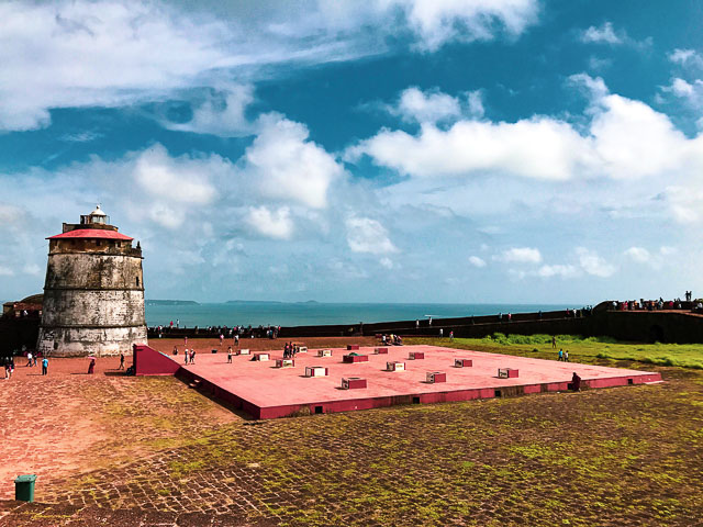 Aguada Fort, best Offbeat things to do in Goa
