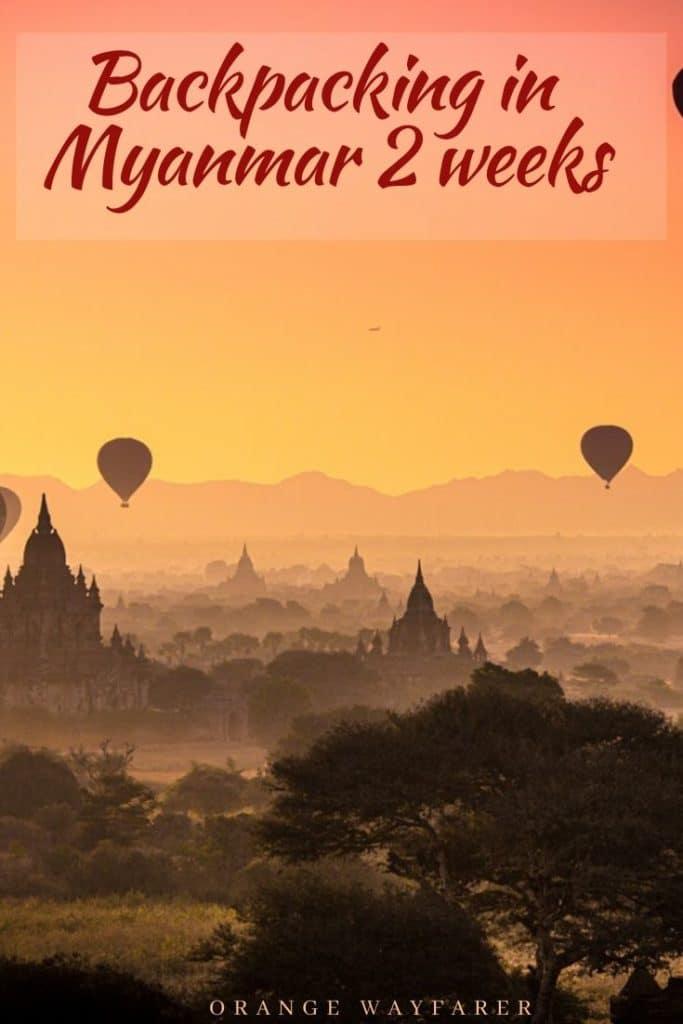 Traveling in Myanmar for two weeks. Things to do in Myanmar. Myanmar travel blog. Burma travel blog. Things to do in Myanmar. Things to do in Yangon. Things to do in Bagan. Bagan travel blog. #burma #myanmar #myanmartravel #myanmarintwoweeks #myanmartravelblog #myanmarculture #myanmartravel #myanmartravelguide #thingstodoinmyanmar #myanmaritinerary #myanmartravelplan #yangon #bagan #bagansunrise #inlelake #mandalay