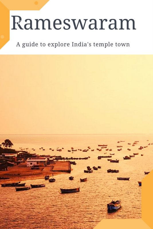 Rameswaram temple Town Tamilnadu #rameswaram #india #templetown #hindu #travel