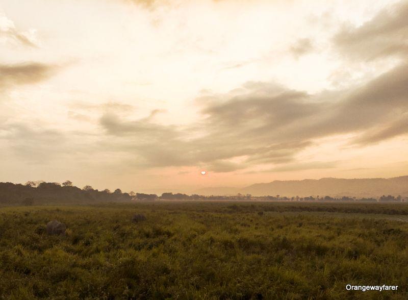 Kaziranga Sunrise at Kohora
