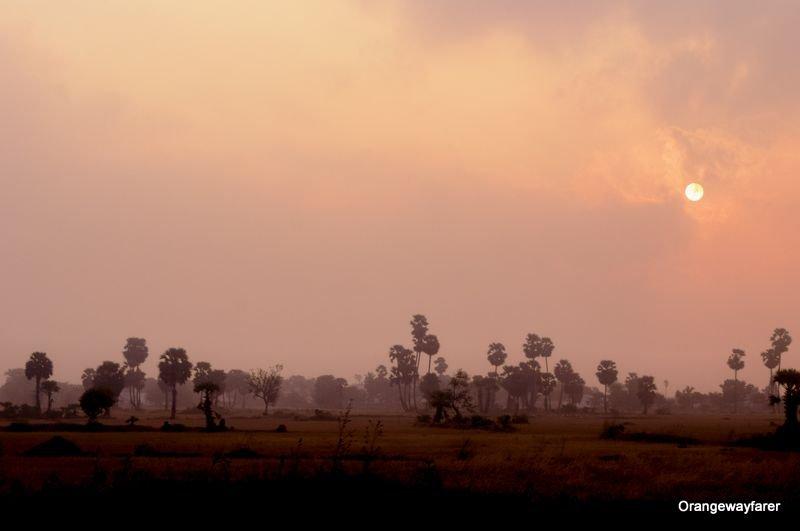 Sunrise in Tamilnadu