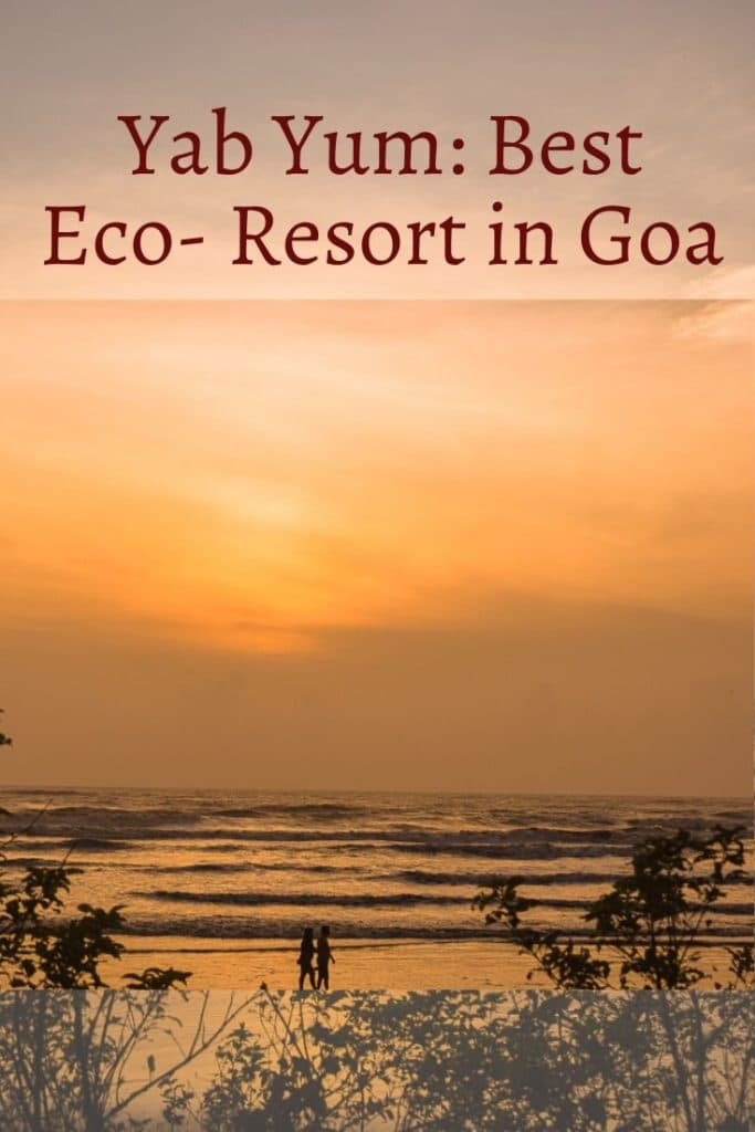 Where to stay in Goa. Eco friendly beach stay in Goa. Goa holidays. Best resorts in Goa. #goa #sustainabletravel #beachstay #goatravel #goawheretostay #ashwembeach #goadiary #ecofriendlystay