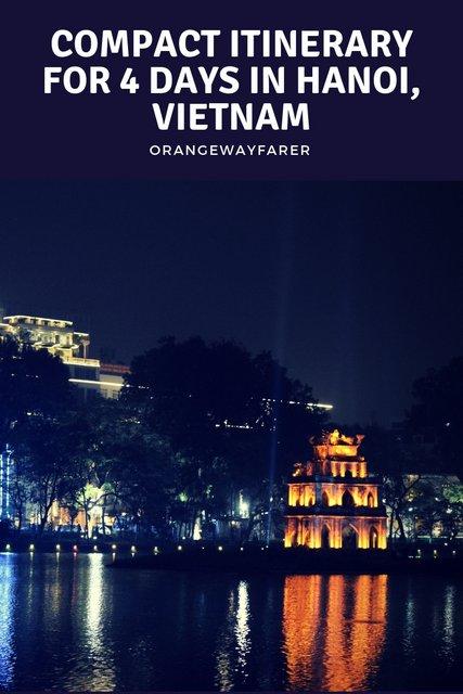#hanoi #itinerary #vietnam #Hanoiitinerary