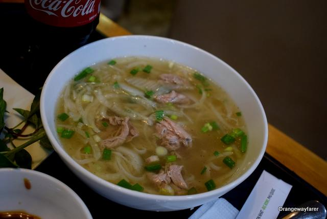 Vietnamese Pho at Ho Chi Minh City