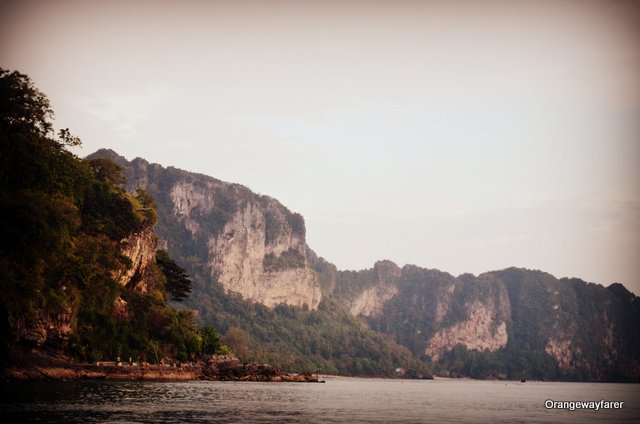 First glimse of Railay