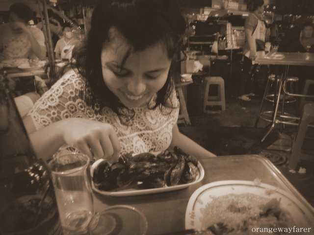 Mussels in China Town Bangkok's Best food