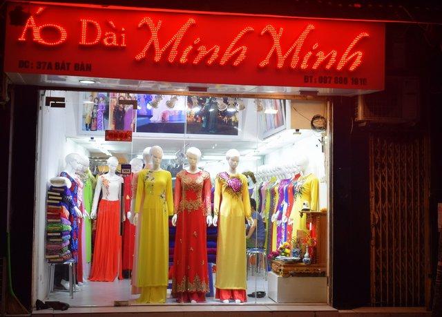 Ao Dai Shops in Hanoi