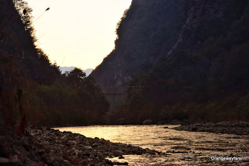 Sunset at Nuranang Falls Arunachal Pradesh