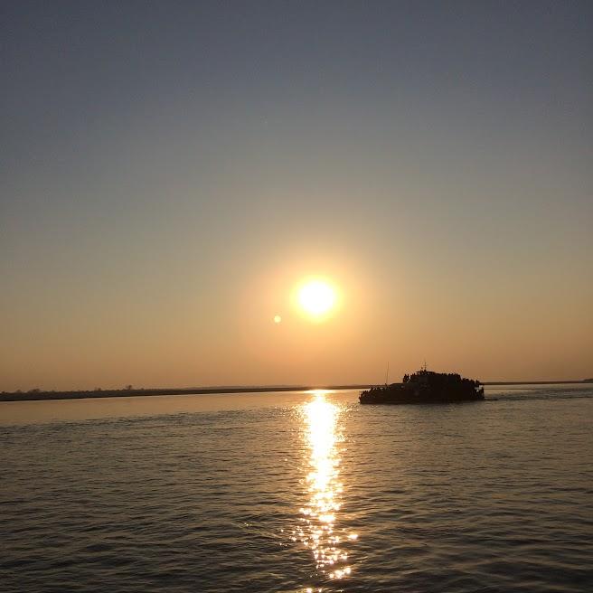 Sunset Majuli