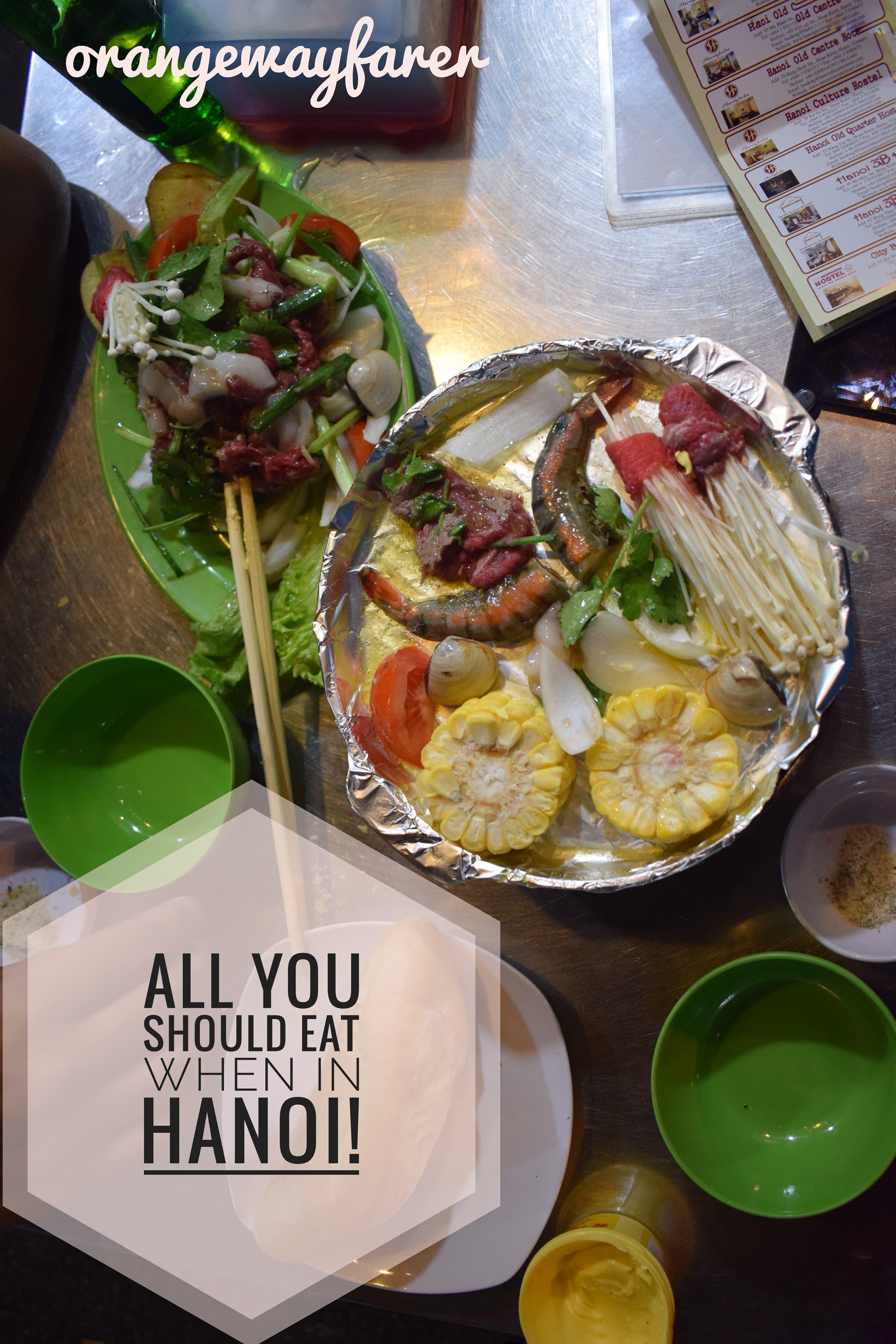 Hanoi must eats