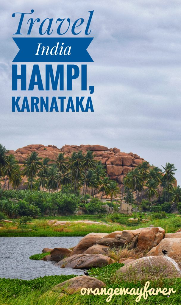 Tungabhadra River that flows by the ruins of Hampi #hampi #india #karnataka #bangalore #travel