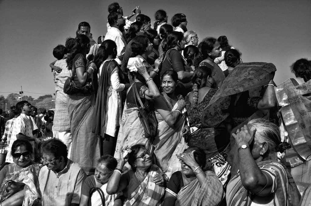 Basanta Utsav or Dol Utsab celebrated at at Shantiniketan