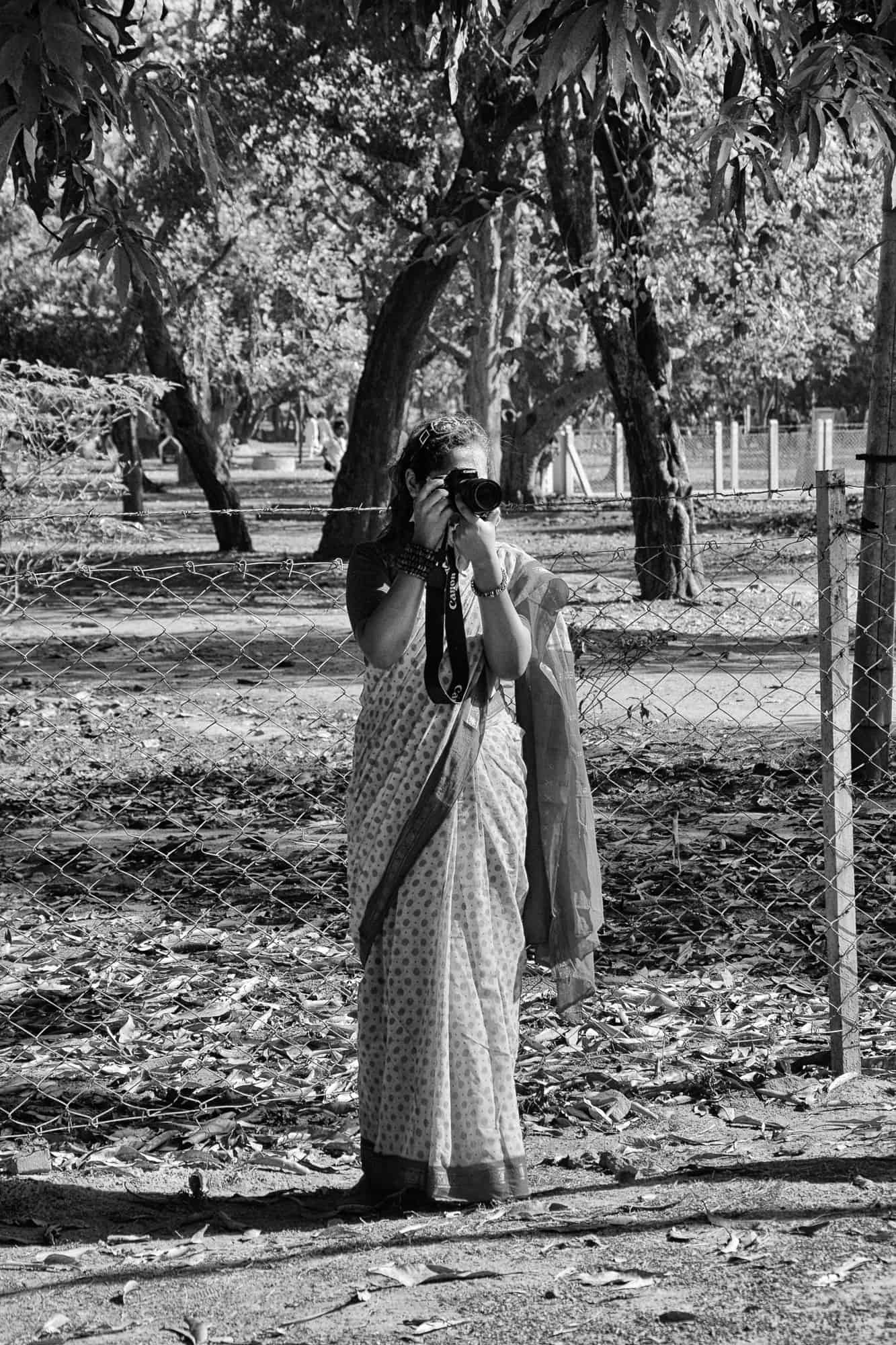 Photography in Shantiniketan