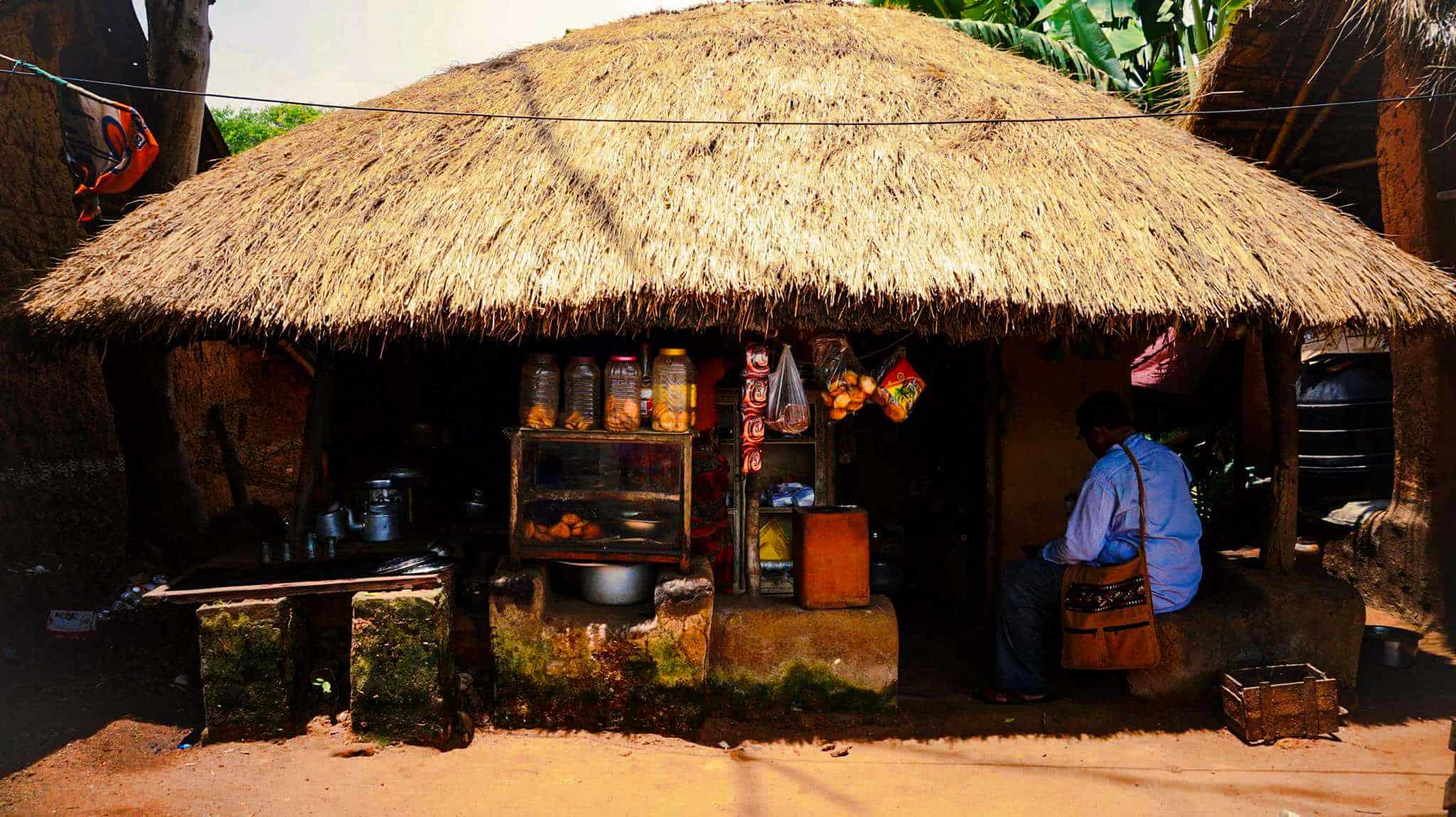 A hut of Rural Bengal