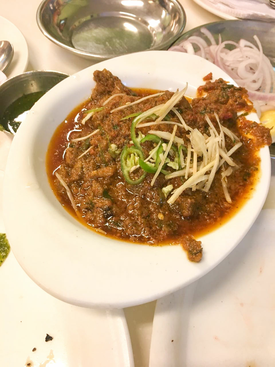Karims restaurant, Delhi, the famed Mutton Korma