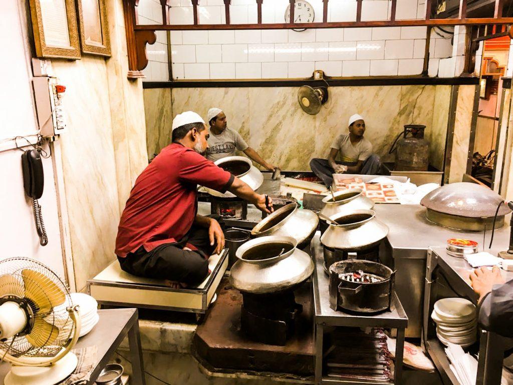 A chef at action, Karims!