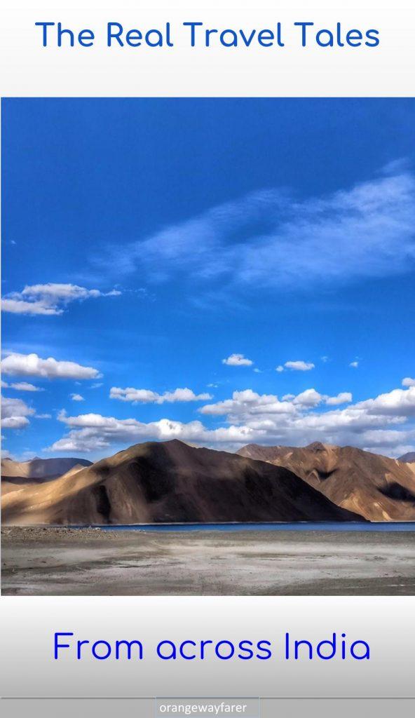 The vast wilderness of Ladakh, Himalaya