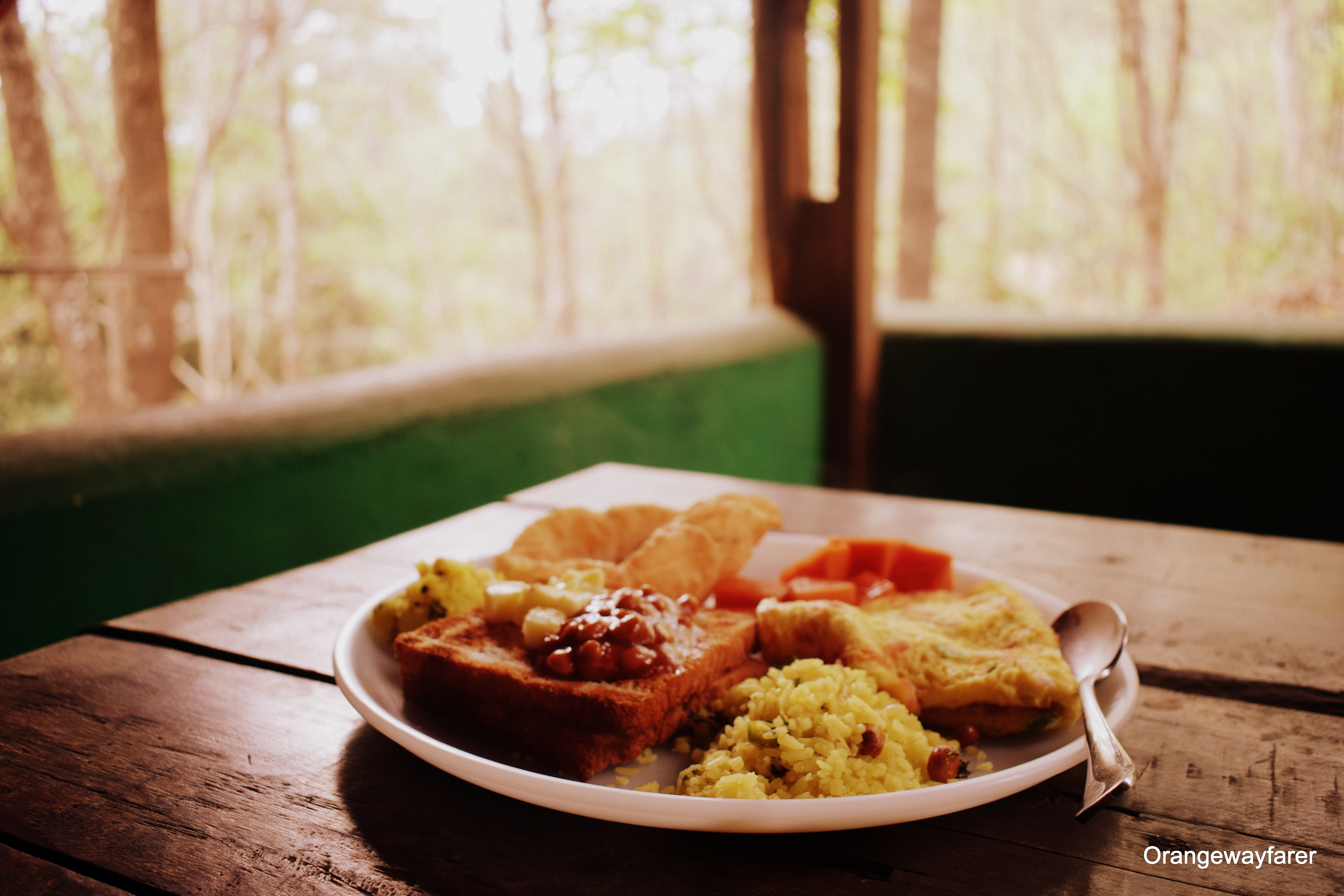 Breakfast at Old Magazine House, dandeli