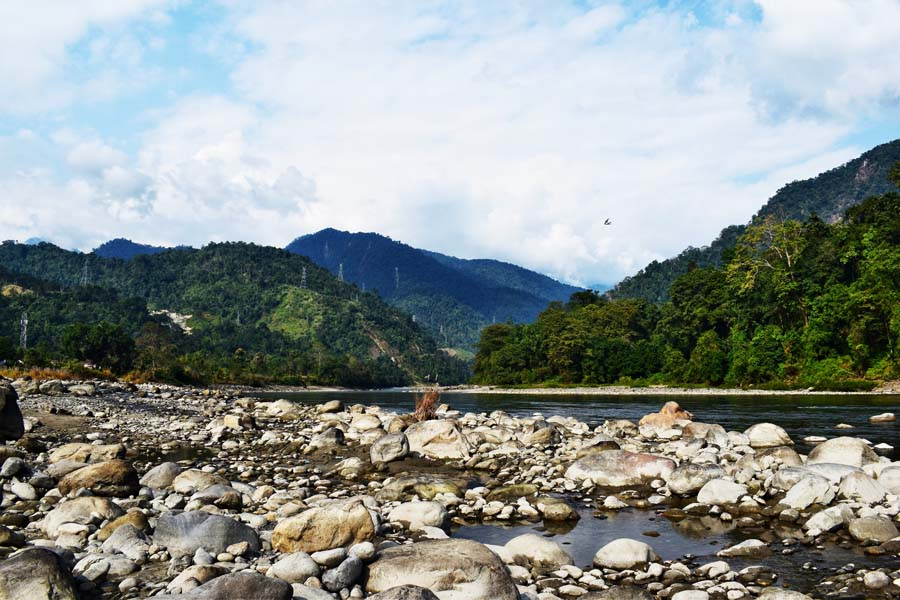 River Jia Bharali, also known as kameng in Arunachal Pradesh